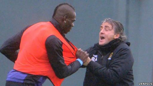 Mancini dan Balotelli