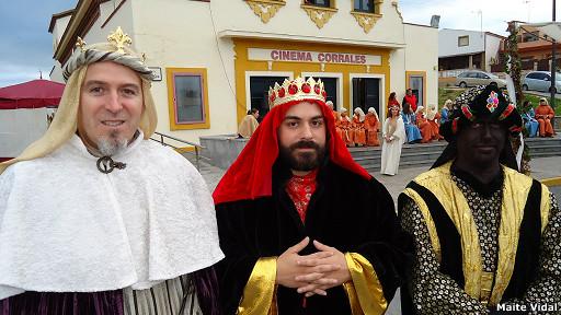 Reyes Magos en Corrales, Huelva