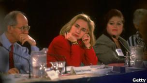 Clinton y la comisión para la reforma de la salud