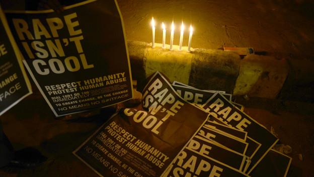 बलात्कार के विरोध प्रदर्शन