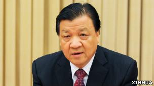 中共中央政治局常委刘云山