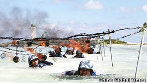 Tập trận của Trung Quốc