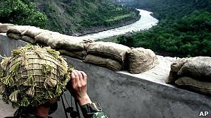 Vùng biên giới tranh chấp Kashmir