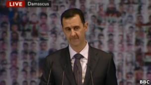 Выступление Асада
