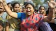 Biểu tình của sinh viên ở Kolkata hôm 3/1