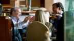 Cựu thống đốc bang New Mexico, Bill Richardson, và chủ tịch Google, Eric Schmidt