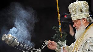 Патриарх Кирилл  УПЦ МП: связь с Москвой ослабевает 130107064025 russia patriarch kirill 304x171 afp
