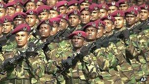 Sri Lanka security forces