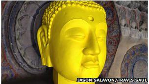 Escultura budista