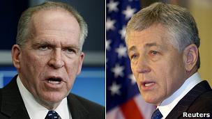 John Brennan và Chuck Hagel