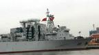 Tàu hộ tống Trung Quốc tại cảng Sài Gòn