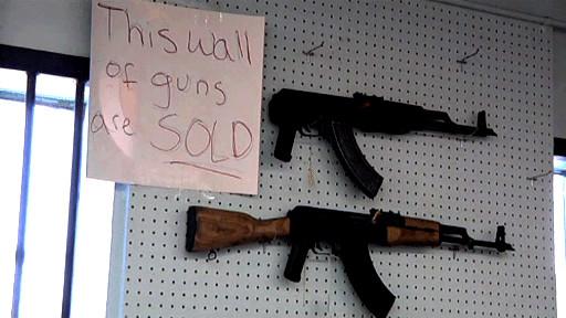 Senjata api di AS
