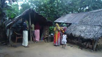 இலங்கையில் ரிசானாவின் குடும்பத்தினர் வாழும் வீடு