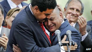 Nicolas Maduro e Diosdado Cabello