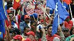 Partidarios de Hugo Chávez