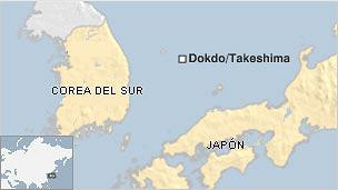 dokdo takeshima mapa