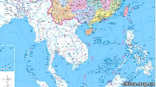 Bản đồ mới của Trung Quốc