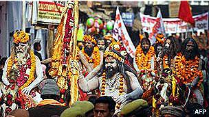 مهرجان كومبه ميلا الهندوسي