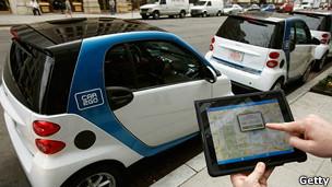 Схема совместного использования автомобилей Car2Go существует во многих городах мира.