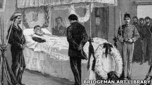 Garibaldi, lecho de muerte