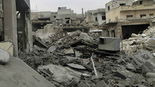 Dampak perang di Idlib