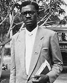 پاتریس لومومبا، نخستین نخست وزیر قانونی کنگو پس از استقلال
