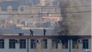 Ataque comisaría Kabul