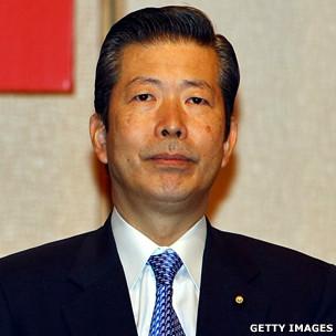 日本公明黨黨代表山口那津男(資料圖片)