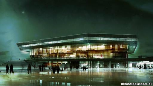Futura biblioteca de Aarhus, na Dinamarca