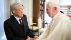 Nguyễn Phú Trọng thăm Vatican