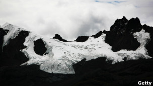 Glaciar andino