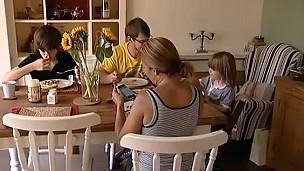 Smartphones en la familia