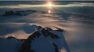 Paisaje de la Antártica