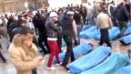 Thi thể các nạn nhân ở Syria
