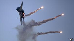 Força Aérea de Israel. AP