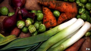 Verduras e legumes (Foto: PA)