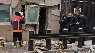 Explosión en Ankara