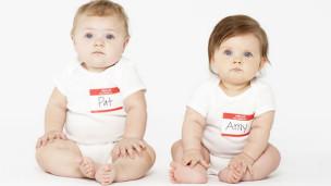 Bebés sentados