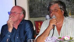 Juan Ackermann y Alfredo Villegas