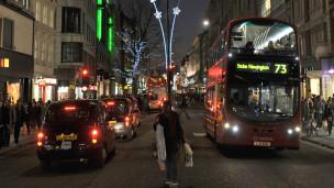 लंदन में ट्रैफिक