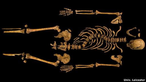 Esqueleto de Ricardo III