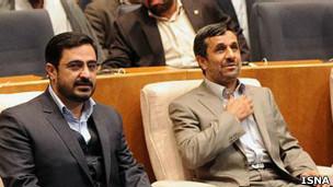 احمدی نژاد و مرتضوی