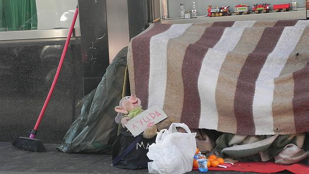 Vivienda de sin techo en España