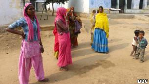 Aldeia de Sunita (Foto BBC)