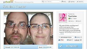Kristie y su esposo