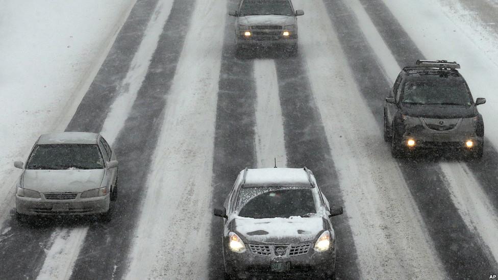 Tormenta de nieve en la Costa Este de EE.UU.