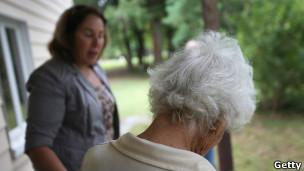 Cuidado de anciana