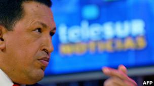 Chavez y Telesur