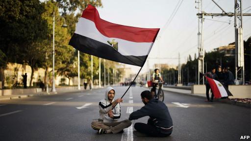 Unjuk rasa antipemerintah di Kairo