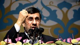 سخنرانی احمدی نژاد در 22 بهمن